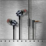 Envent Beatz 307 Flat Wired Earphone With MIC - Grey