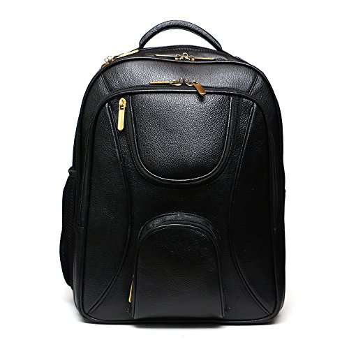 C Comfort 17 inch Laptop Backpack Black