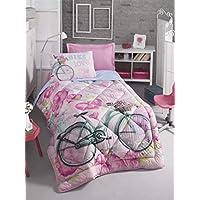 Cotton Box Genç Uyku Seti Tek Kişilik - Bike Pembe