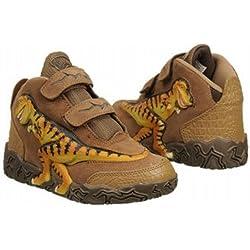 Dinosoles 3d T-rex Ht - Zapatillas para niño marrón marrón, color marrón, talla 11 UK