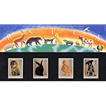 1990 RSPCA Presentation Pack PP177 (printed no. 205) - Royal Mail Stamps by Royal Mail