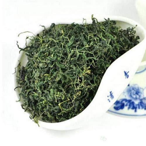 JQ Tea 500g Bio Trocken Sieben Blätter Jiaogulan (Natürliche Süße)Ohne Stängel Unsterblichkeitskraut Gynostemma Pentaphyllum Frische Ernte -