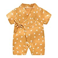 AOOPOO Baby Clothes, Baby Boy Girl Romper Cute Jumpsuit Climbing Clothes Baby Bodysuit Short Sleeve Romper Polo Jumpsuit Cotton Outfits Unisex Babygrow
