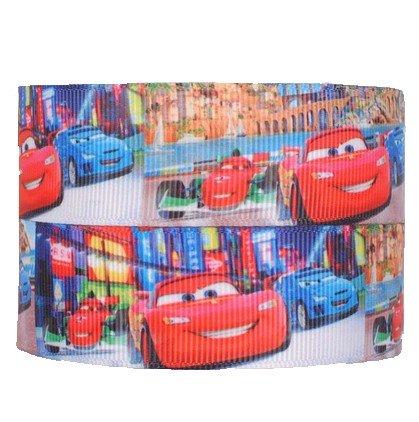 Pixar Cars Charakter Ripsband für Geburtstagstorten, Geschenkpapier Band Haar Bögen Karten Craft Schnürsenkel ()