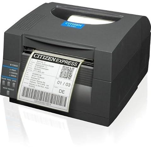 CITIZEN 1000815 CL-S521 DT USB RS232 Grey ZPL 203dpi Speed:150