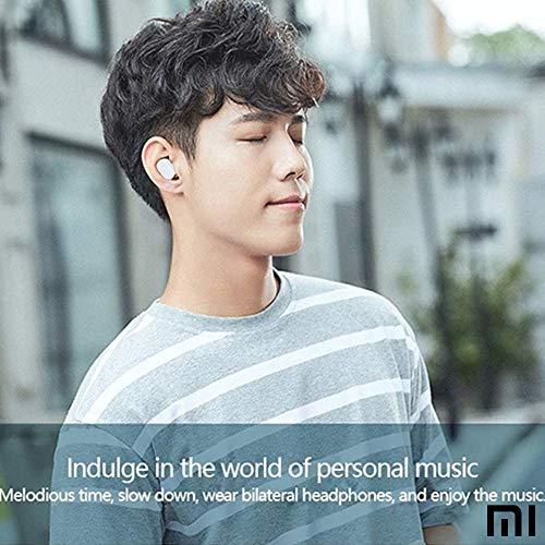 Xiaomi Mi Airdots Kabellose Kopfhörer, Bluetooth 5.0 - automatische Verbindung (Stereo) 12h Geräuschunterdrückung, Touch-Tasten, tragbares Ladegerät, CE-Zertifiziert (iOS & Android) weiß - 9