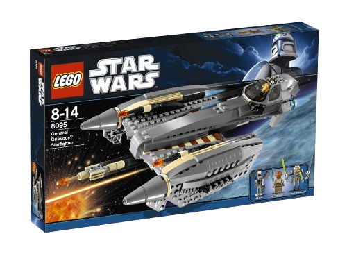 LEGO Star Wars 8095 -  General Grievous' Starfighter - Clone Wars Spielzeug Lego Star