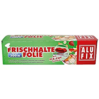 Alufix 6X cling film with fix-cut system, approx. 29 cm wide