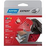 Norton Lot de 5 Disques Pex auto-agrippants expert Diamètre 125 Grain 120 multi air