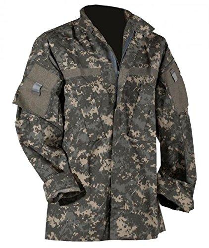 US Feldjacke M65 Feldparka ACU All Digital Combat Uniform Wind- und Nässeschutz Herbstjacke in verschiedenen Farben S-3XL (XL, AT Digital) -