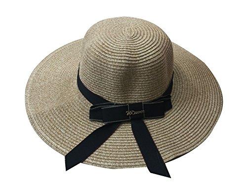 ACVIP Femme Chapeaux Feutre Capeline de Soleil Voyage Vacances 6Couleurs #3