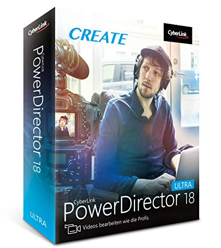 CyberLink PowerDirector 18 Ultra (64-Bit)