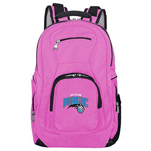 DENCO NBA Orlando Magic Voyager Laptop Backpack, 19-inches, Pink