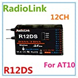 Generic RadioLink R12DS Receiver 12CH 12 Channel 2.4Ghz Digital Radio Receiver for AT10