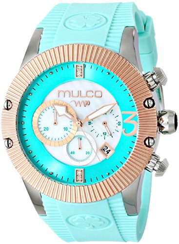 MULCO Unisex MW5-2828-433 Analog Display Japanese Quartz Blue Watch