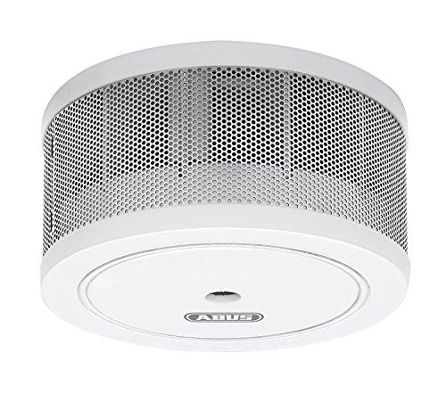 ABUS Mini-Rauchmelder GRWM30600 geeignet für Wohn- und Schlafzimmer | 10 Jahres-Melder | kompakte Bauweise | weiß | 12311