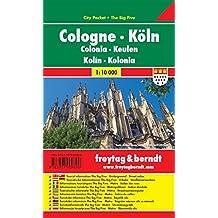 Köln, City Pocket + The Big Five, wasserfest - Maßstab 1:10.000, Freytag Berndt Stadtpläne