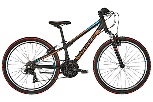 "SERIOUS Rockville 24"" Black/orange/Blue 2019 Kinderfahrrad"
