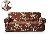 CHUN YI 1-Stück bedruckte Stretchhusse für Sofa, Sofabezug, Sofahusse, mehrere Farben (3-Sitzer, Art-f)