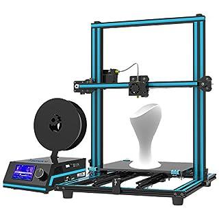 Tronxy X3S Prusa i3 3D printers Ultra Quiet Desktop Printing Machine with Adjustable XY Axis Belt Square Full Aluminium Profile, Max Printing Size 330x330x420 mm