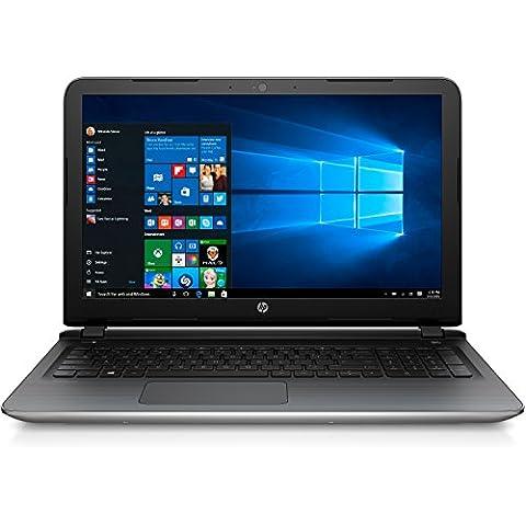 HP Pavilion (15 ab103ng) de 39,6 cm (15,6 pulgadas / H) portátil (AMD de cuatro núcleos A10-8780P 1 TB sshd, 8 GB de memoria RAM, AMD Radeon R7 M360, Windows 10) de plata