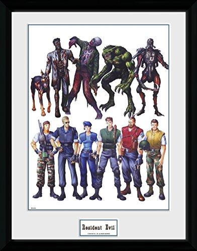 GB Eye, Resident Evil, Concept Art, Foto incorniciata 40 x 30 cm