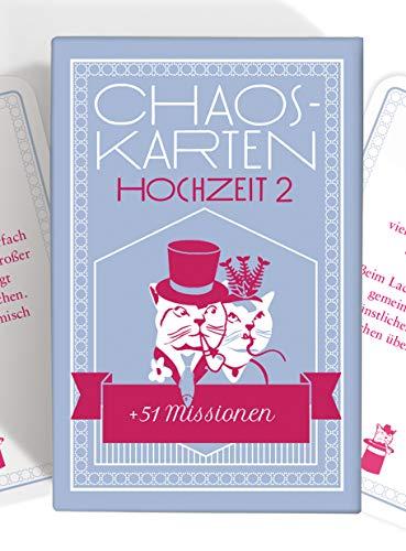 Chaoskarten Hochzeitsspiel - Erweiterungsset - 51 Neue Aufgaben für eine lustige Hochzeit