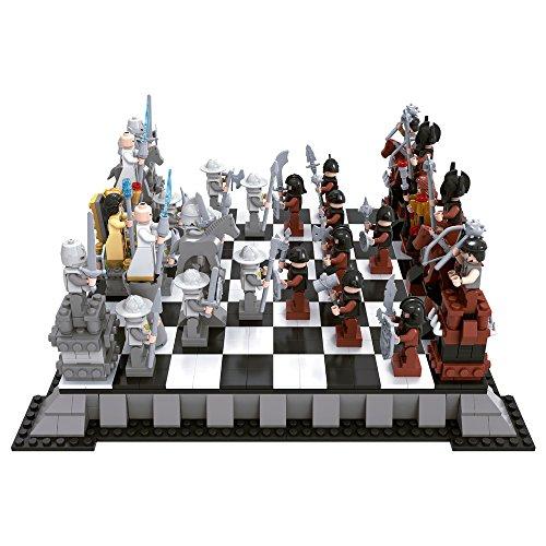 Ausini - Juego de bloques construcción Ajedrez Piratas & Caballeros - 1.142 piezas (ColorBaby 42858)