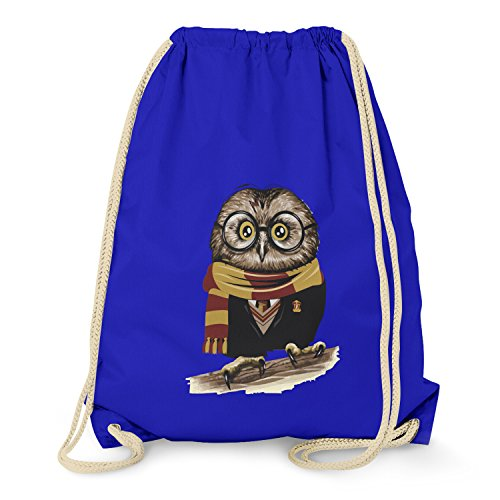 TEXLAB - Harry Owl - Turnbeutel, marine (Wäsche-shirt Blau Englisch)