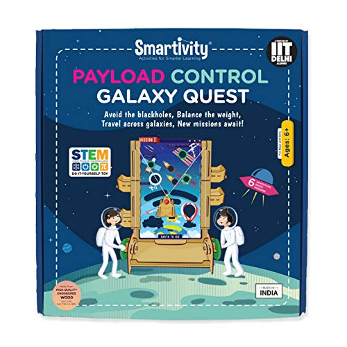 Smartivity Payload Control Galaxy Quest Stem, DIY, Educational, Learning, Building and Construction Toy