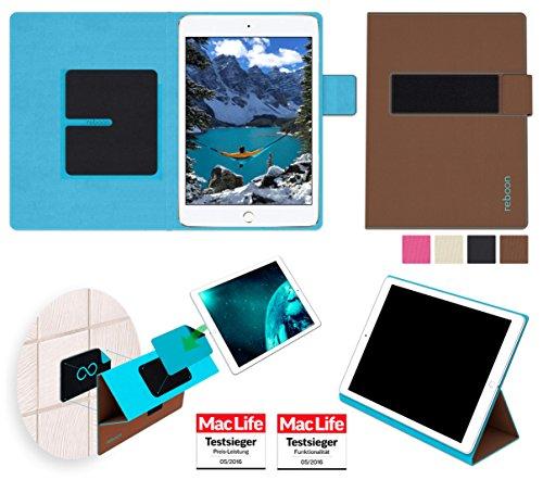 reboon Hülle für Apple iPad Mini 4 Tasche Cover Case Bumper | in Braun | Testsieger