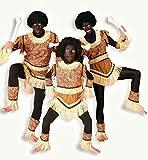 Kanibale Menschenfresser Afrikanerin Kostüm Damen 40
