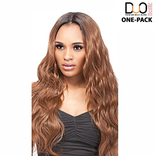 (4 mèches Pack complet + Closure) Outre Batik Duo – Malaysian Bundle Hair 5pcs – Weave