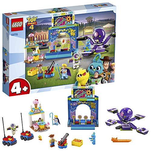 LEGO 10770 4+ Toy Story 4 Buzz & Woody's Carnival Mania! with Buzz Lightyear and Woody Minifigures Best Price and Cheapest