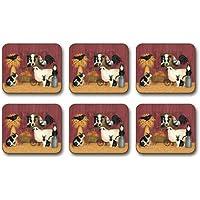 Jason D2405 Barnyard Menagerie Coasters, Set of 6