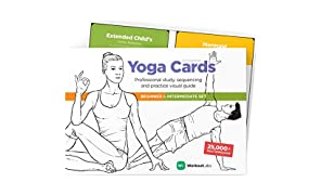 WorkoutLabs YOGA CARDS I & II – Complete Set: Professional Visual Study, Class Sequencing & Practice Guide · Premium Flash Cards Decks with Sanskrit