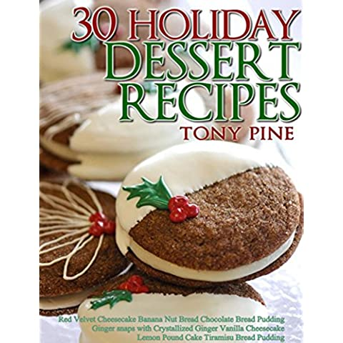 30 Holiday Dessert Recipes: Red Velvet Cheesecake