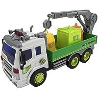 Camión basura con contenedores y sonido