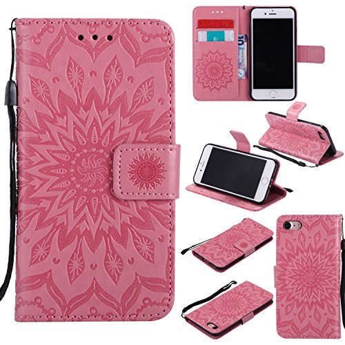 funda-iphone-7-47-zoll-case-ecoway-girasoles-patron-en-relieve-pu-leather-cuero-suave-cover-con-flip