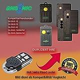 Emisor manual 868MHz para ANSONIC SA 868–1E, ANSONIC SA 868–2E, ANSONIC SA...