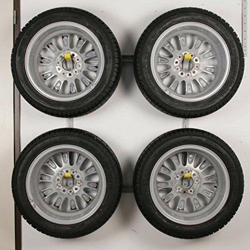 Reifenhalter Wandhalter für 4 Auto Reifen Felgen Felgenbaum Allit Tyres 455217