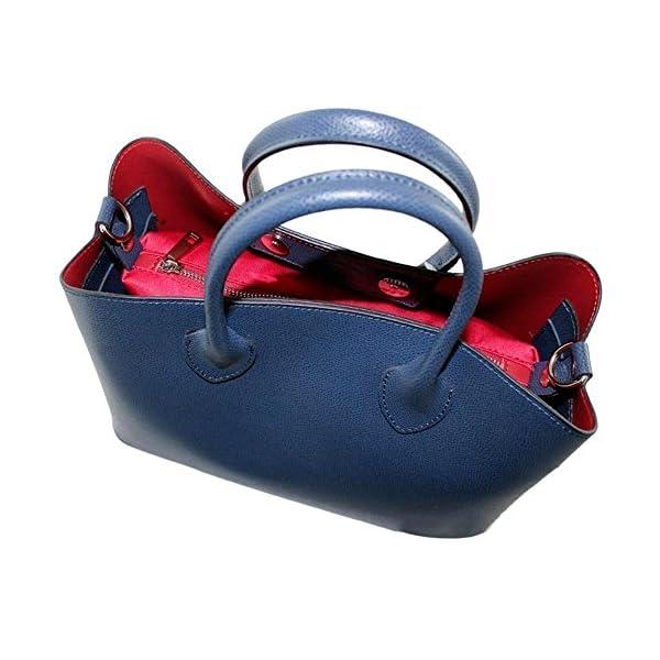 Top handle Leather bag Benedetta - handmade-bags