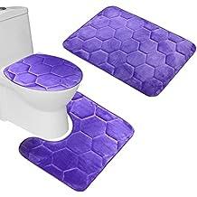 Abattant wc violet - Housse abattant wc ...