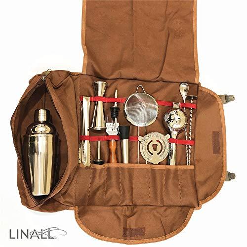 CBBK0001 Bartender Kit Bag - Tragbare Bar Tasche für Reisen, Bag+Tools -