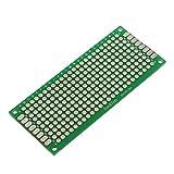 TOOGOO(R) 4pcs Doble-Lado Prototipo FR-4 PCB Stripboard universal tarjetas de circuitos impresos 3 * 7cm Tamano