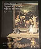 Scarica Libro SOTHEBY S catalogo asta 1997 MOBILI DIPINTI CERAMICHE ARGENTI e SCULTURE (PDF,EPUB,MOBI) Online Italiano Gratis