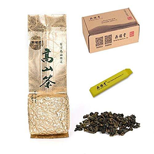 Yan Hou Tang - Taiwan Dong Ding Oolong Kräuter Herbal Oolong Loser Tee backen Aroma Geschmack halb gekocht 35% Ferment Loose Leaf Formosa hohen Berg Oolong gewachsen Sommer US FDA SGS Verifiziert -