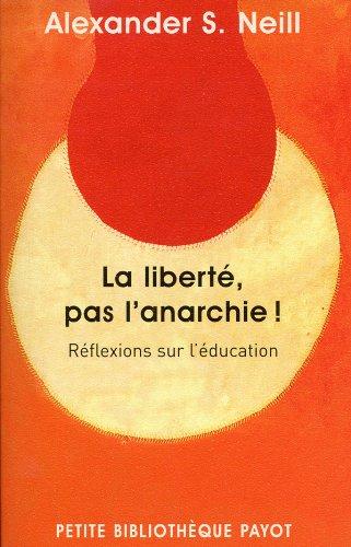 La liberté, pas l'anarchie !