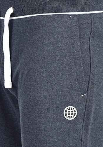 BLEND Saresen Herren Sweat-Shorts kurze Hose Sport-Hose aus hochwertiger Baumwollmischung Navy (70230)