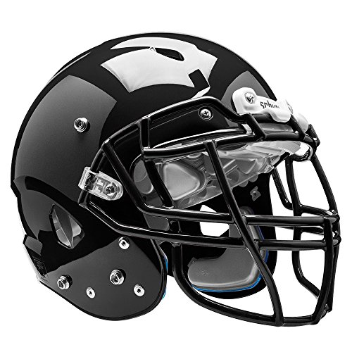 Schutt Sports Vengeance VTD II Football Helm ohne Rothko and Frost Deckenschoner, schwarz